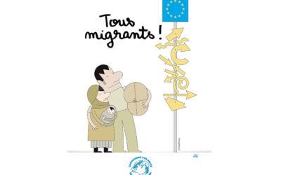 Un livret pédagogique autour des migrations avec Cartooning for Peace