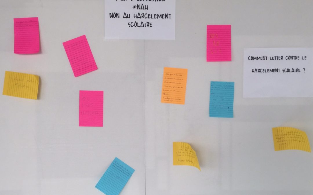 """""""Ensemble contre les discriminations !"""" au lycée E. Branly"""