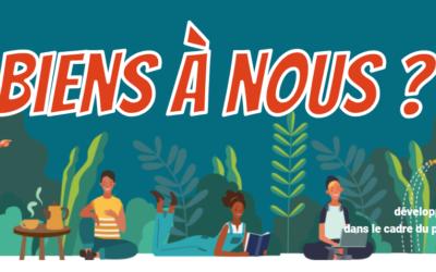 « Biens à nous ? » : l'outil numérique sur les biens communs